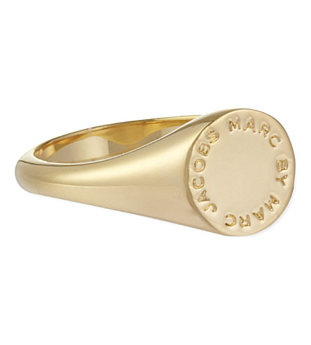 MARC BY MARC JACOBS Signet ring (Oro