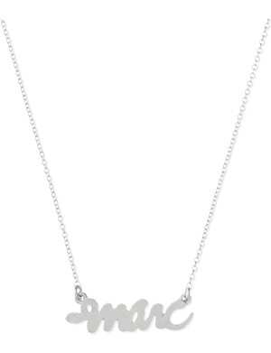 MARC BY MARC JACOBS Script snake necklace