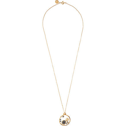 MARC BY MARC JACOBS Floating charms pendant (Black