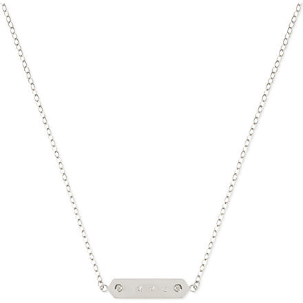 MARC BY MARC JACOBS Plaque necklace (Argento