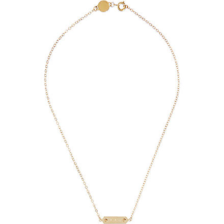 MARC BY MARC JACOBS Plaque necklace (Oro