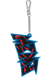MARC BY MARC JACOBS Slasher logo bag charm