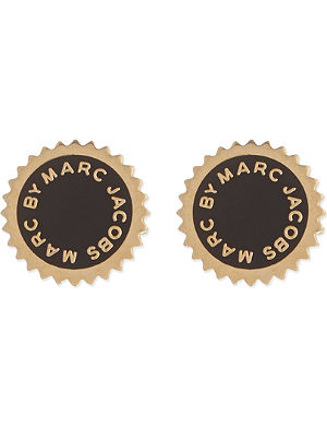 MARC BY MARC JACOBS Classic saw tooth studs