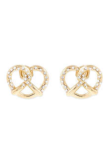 MARC BY MARC JACOBS Lost & Found salty pretzel earrings