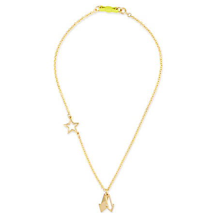 MARC BY MARC JACOBS Lost & found pointing bow necklace (Oro