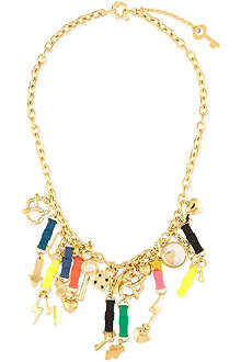 MARC BY MARC JACOBS Lost & found bow tie necklace