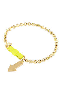 MARC BY MARC JACOBS Lost & found yellow arrow bracelet