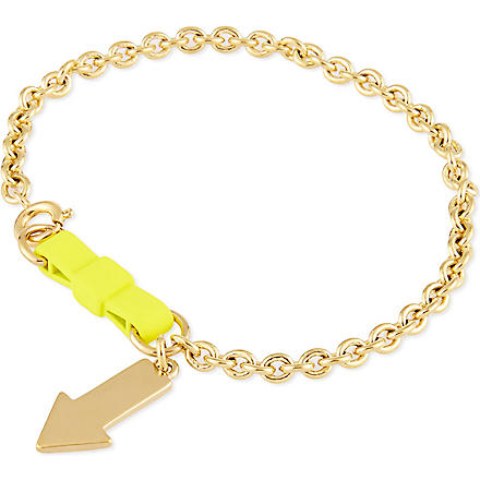 MARC BY MARC JACOBS Lost & found yellow arrow bracelet (Yellow