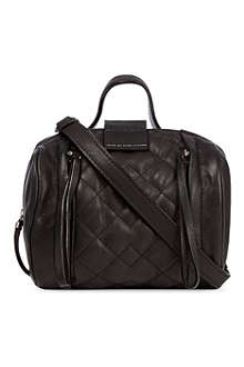 MARC BY MARC JACOBS Moto quilted barrel bag