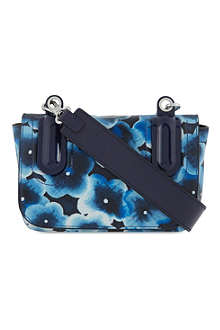 MARC BY MARC JACOBS Ball & Chain floral leather cross-body bag