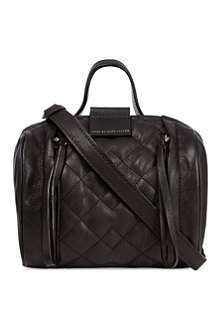 MARC BY MARC JACOBS Moto small quilted barrel bag