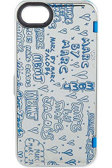 MARC BY MARC JACOBS Graffiti print iPhone 5 case