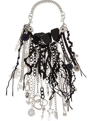 MARC BY MARC JACOBS Multi-pendant and metal chain necklace