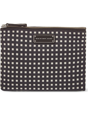 MARC BY MARC JACOBS Checked cosmetic case