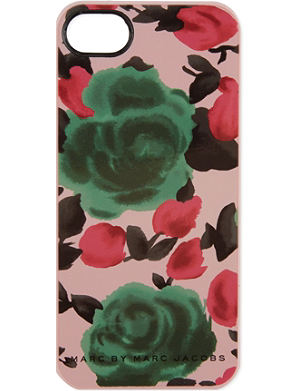 MARC BY MARC JACOBS Glossy Jerrie rose iPhone case
