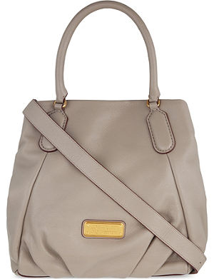 MARC BY MARC JACOBS New q fran leather shoulder bag