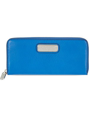 MARC BY MARC JACOBS NewQ slim leather zip around wallet