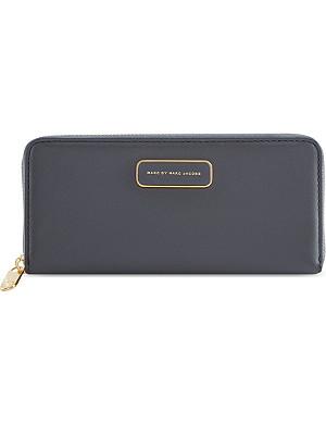 MARC BY MARC JACOBS Ligero slim zip-around wallet