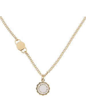 MARC BY MARC JACOBS Scalloped disc necklace