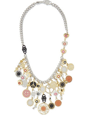 MARC BY MARC JACOBS Happy House statement necklace