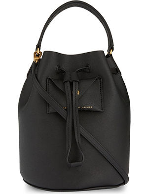 MARC BY MARC JACOBS Metropoli saffiano leather bucket bag