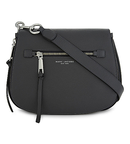 saddle bag Recruit Shadow JACOBS MARC leather JACOBS MARC wzBPX6xq