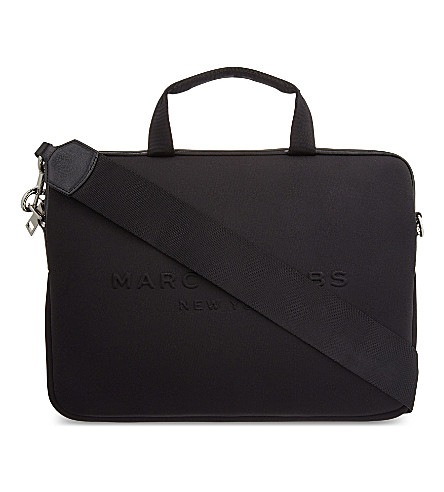 MARC JACOBS Neoprene commuter case (Black