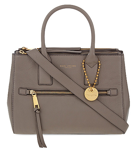 MARC JACOBS Recruit East West leather tote (Mink