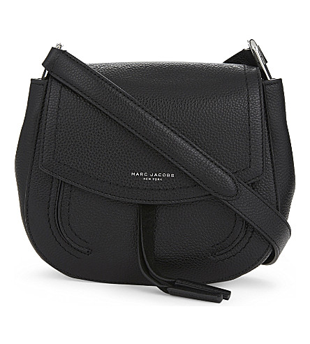 MARC JACOBS Maverick mini leather shoulder bag (Black