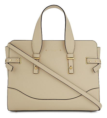 MARC JACOBS The Rivet leather tote (Antique+beige