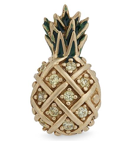 MARC JACOBS Pineapple single stud earring (Topaz multi