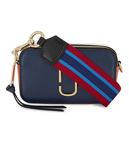 Snapshot shoulder bag - Blue Marc Jacobs Hot Sale Deals Outlet New Cheap Sale Footaction cIhdSz2