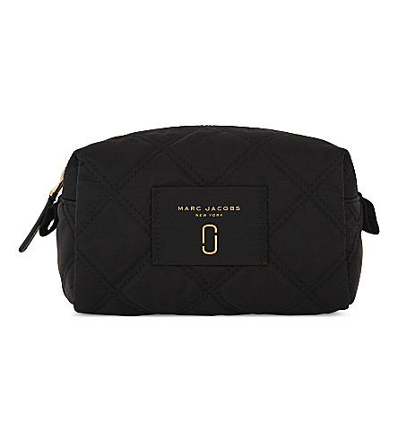 MARC JACOBS Large nylon make-up bag (Black