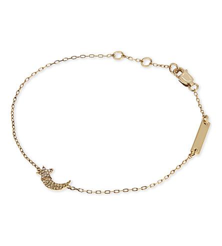 MARC JACOBS Shooting star friendship bracelet (Gold