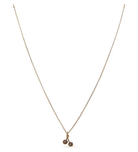 MARC JACOBS Cherries pendant (Gold
