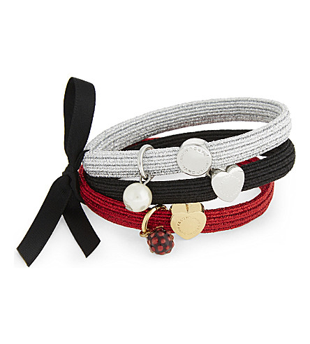 MARC JACOBS Raspberry cluster hairband (Red+multi