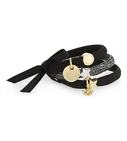 MARC JACOBS Daisy hairband cluster (Black+multi