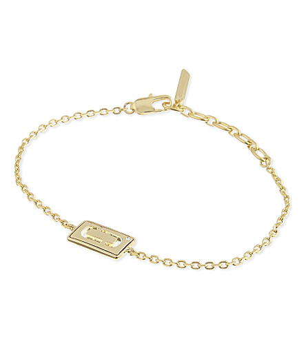 MARC JACOBS Double j bracelet (Gold