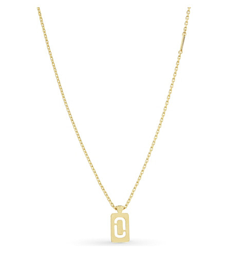 MARC JACOBS Double j necklace (Gold