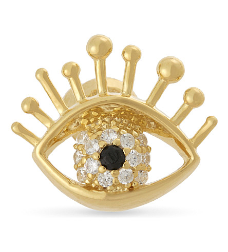 MARC JACOBS Evileye single stud earring (Gold
