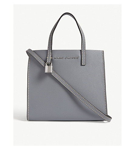 Cheap Sale Low Price Fee Shipping MARC JACOBS Mini Grind tote bag Slate Fashionable Online Free Shipping Fashion Style Buy Cheap Fast Delivery Limited Edition xtfinMF