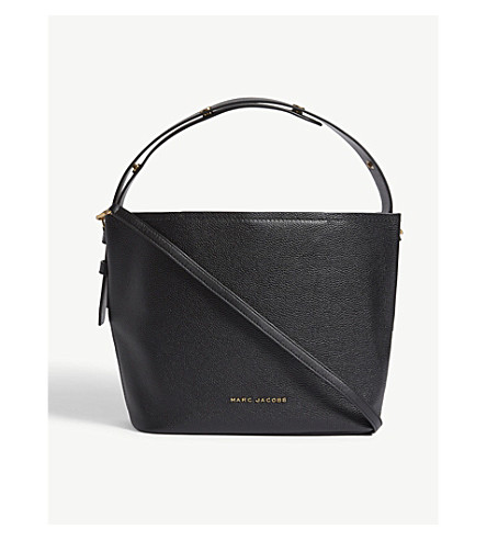 MARC JACOBS Leather Road Hobo bag (Black