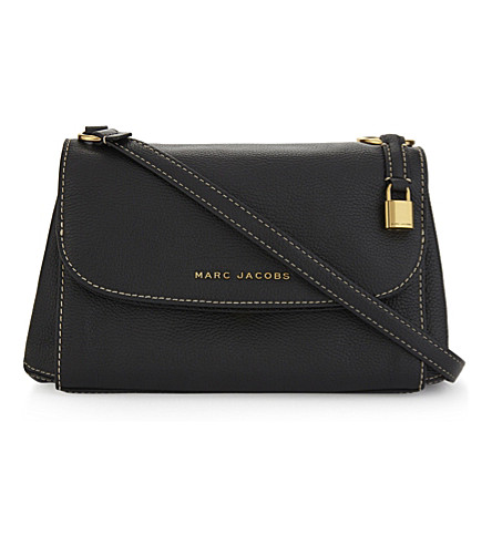 MARC JACOBS Boho Grind leather cross-body bag (Black/gold