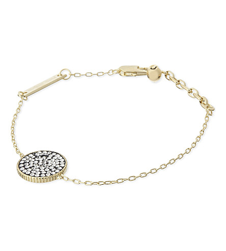 MARC JACOBS Pave diamanté bracelet (Gold/crystal