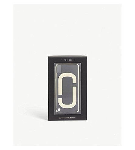 MARC JACOBS Double J iPhone X case (Black+multi