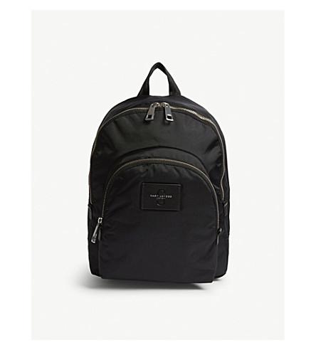 MARC JACOBS Nylon backpack (Black