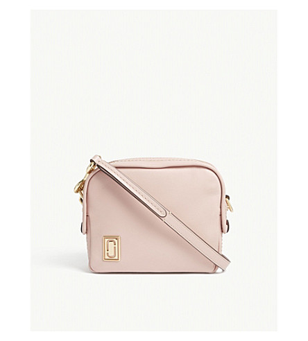 MARC JACOBS Mini Squeeze leather cross-body bag (Dusty+blush