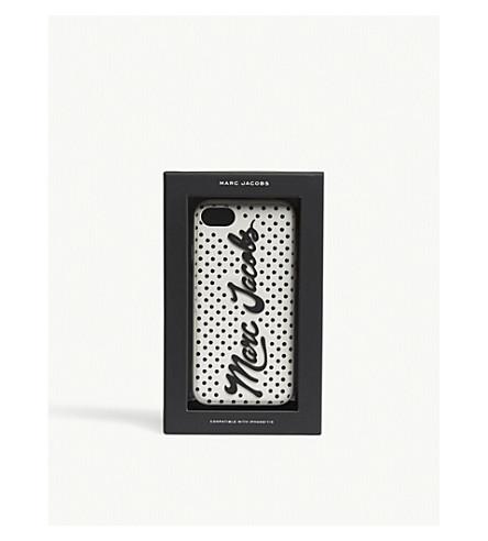 MARC JACOBS Script logo iPhone 7/8 case (White+multi