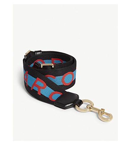 MARC JACOBS Webbing bag strap (Blue+multi