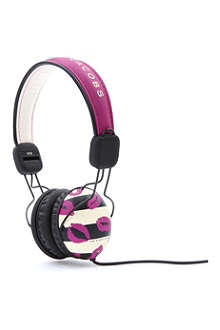 MARC BY MARC JACOBS Stripey Lips headphones